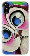 Pretty Pinky Owl IPhone Case