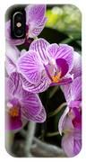 Pretty Purple And White IPhone Case