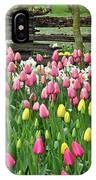 Pretty Tulips Garden IPhone Case