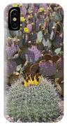 Prickly Pear Blooms IPhone Case