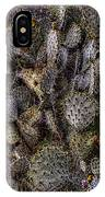 Prickly Pear Cactus At Tonto National Monument IPhone Case
