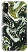 Prickly Pear With Green Fruit Abstract IPhone Case