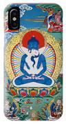 Primordial Buddha Kuntuzangpo IPhone Case