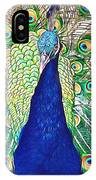 Prince Of The Peacocks IPhone Case