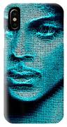 Prince - Tribute In Blue IPhone Case