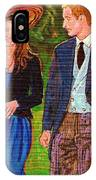 Prince William And Kate The Young Royals IPhone Case