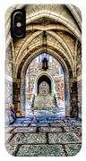 Princeton University Arches And Stairway To Education IPhone Case
