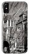 Princeton University Foulke And Henry Halls Archway IPhone Case