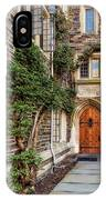 Princeton University Foulke Hall II IPhone Case