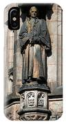 Princeton University J Witherspoon Statue  IPhone Case