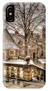 Snow / Winter Princeton University IPhone Case