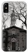 Princeton University Nassau Hall  IPhone Case