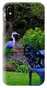 Priscillas English Garden IPhone Case