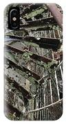 Prison Spiral Staircase IPhone Case