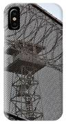 Prison Tower And Fence IPhone Case