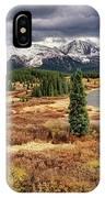 Pristine Mountain Lake IPhone Case