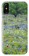 Private Property -wildflowers Of Texas. IPhone Case