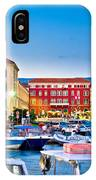 Prokurative Square In Split Evening Colorful View IPhone Case