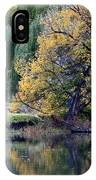 Prosser - Autumn Reflection With Geese IPhone Case