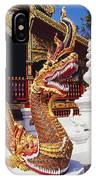 Protective Serpent (naga) IPhone Case