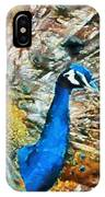 Proud As A Peacock IPhone Case