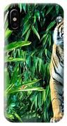 Proud Tiger IPhone Case