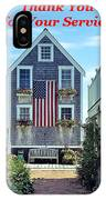 Provincetown Patriot By Sharon Eng IPhone Case