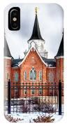 Provo City Center Temple Lds Large Canvas Art, Canvas Print, Large Art, Large Wall Decor, Home Decor IPhone Case