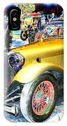 Psychedelic 1930 Jaguar Ss1 At London Classic Car Show 2015 IPhone Case