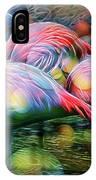 Psychedelic Ibis IPhone Case