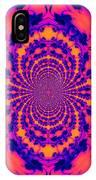 Psychedelic Mandelbrot Set  Kaleidoscope IPhone Case