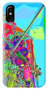 Psychedelic Violinist IPhone Case