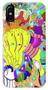 Psychedellic Pinch IPhone Case