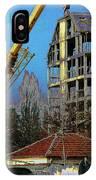 Psycho Plovdiv Crane IPhone Case