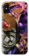 Psylocke And Deadpool IPhone Case