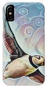 Puffin During Sunrise IPhone Case