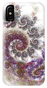 Puffy Spirals IPhone Case