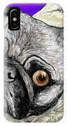 Olivia The Pug IPhone Case