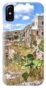Puglia Canvas Church Hermitage Pulsano - Monte Sant Angelo - Foggia - Gargano IPhone X Case