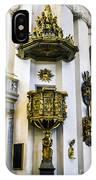 Pulpit Kalmar Cathedral IPhone Case