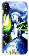 Pulse Of Life Abstract IPhone Case