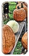 Pumkins In A Row IPhone Case