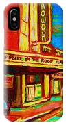 Pumperniks And The Snowdon Theatre IPhone Case