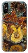 Pumpkin And Sea Buckthorn  IPhone X Case