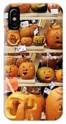 Pumpkin Festival. IPhone Case