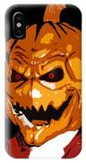 Pumpkin Head IPhone Case