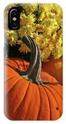 Pumpkin Still Life  IPhone Case