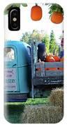 Pumpkin Truck IPhone Case