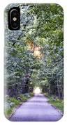 Pumpkinvine Trail In Fall IPhone Case