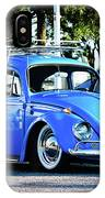 Punch Buggie Blue IPhone Case